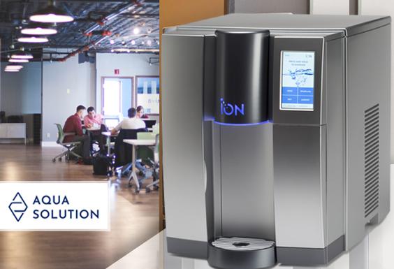 ION Natural Choice dystrybutor wody zimnej gorącej gazowanej do biura