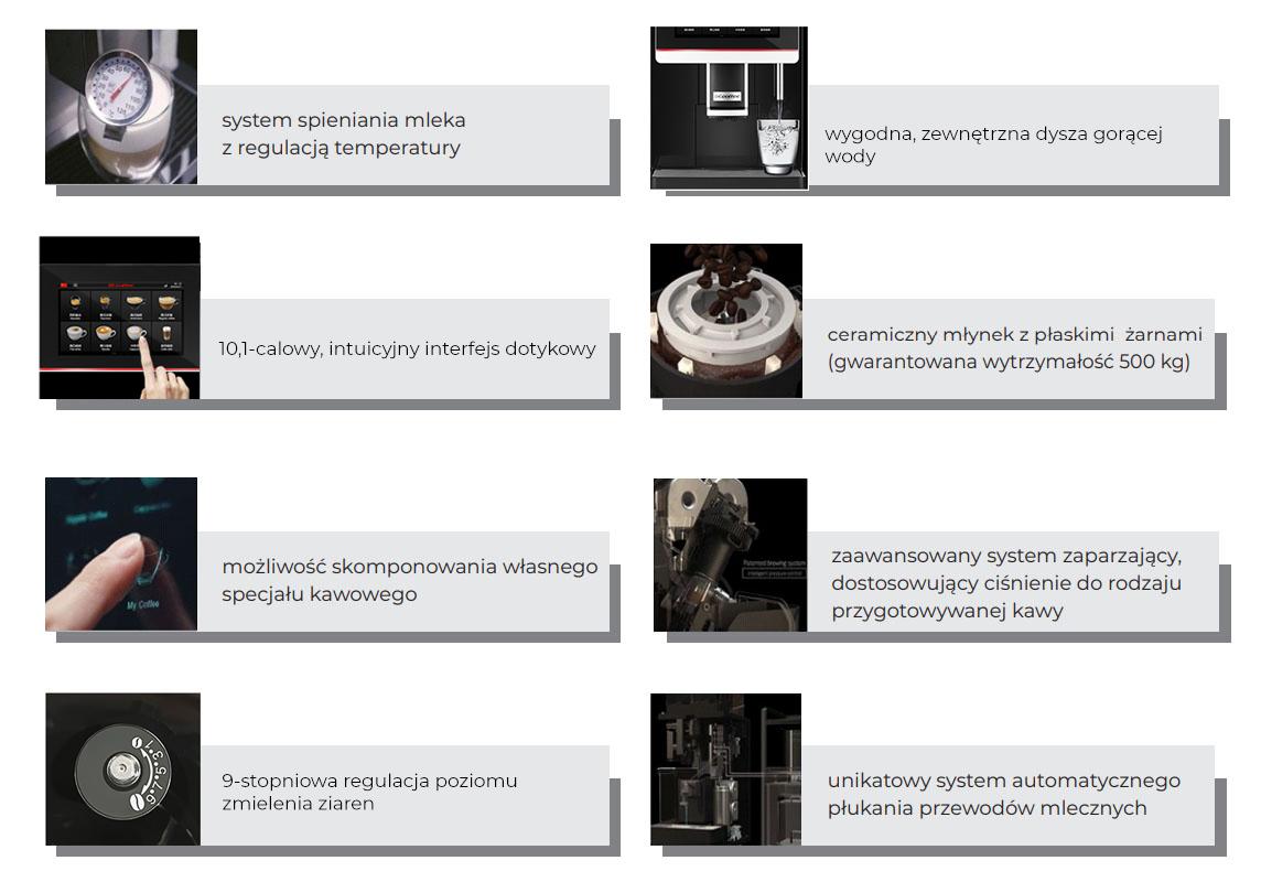 ekspres do kawy dla gastronomii automatyczny dr coffee coffeebar